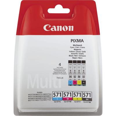 CANON CLI-571 BK/C/M/Y  Default image