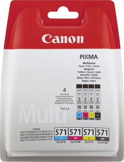 CANON CLI-571+50FOGLI PP-201  Default image