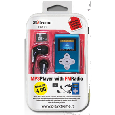 XTREME LETTORE MP3 4BG METAL + FM  Default image