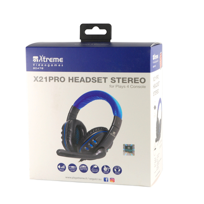 XTREME 90476 - Stereo Headset with Microphone  Default image