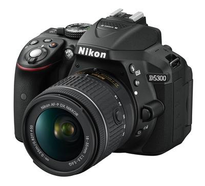 NIKON D5300 18-55 VR AF-P + SD 8GB  Default image