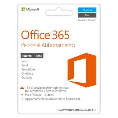 MICROSOFT OFFICE 365 PERSONAL POSA  Default image