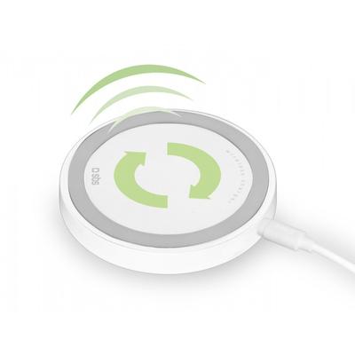 SBS ACCESSORI TELEFONICI Caricabatterie wireless da tavolo  Default image