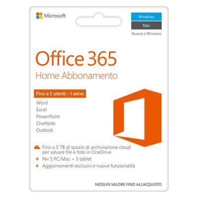 MICROSOFT OFFICE 365 HOME PREMIUM POSA  Default image