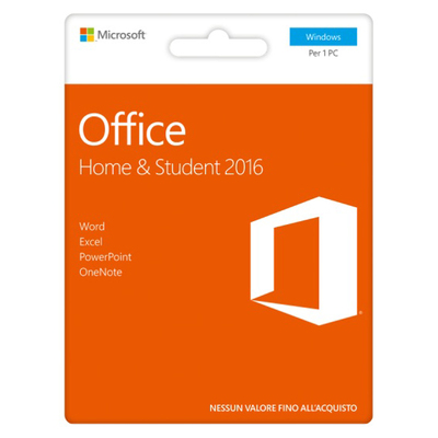 MICROSOFT Office Home & Student 2016 POSA  Default image