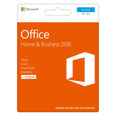 MICROSOFT Office Home and Business 2016 - Posa  Default image