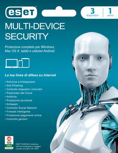 ESET MULTI DEVICE SECURITY POSA  Default image