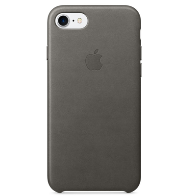APPLE iPhone 7 Leather Case - Storm Gray  Default image