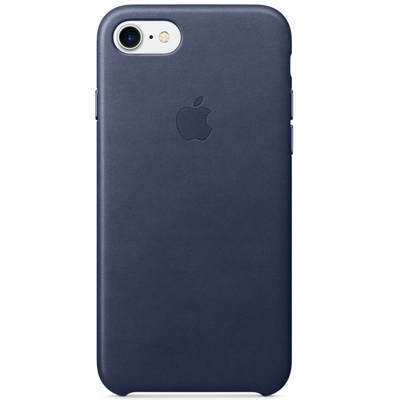 APPLE iPhone 7 Leather Case - Midnight Blue  Default image