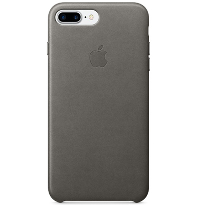APPLE iPhone 7 Plus Leather Case - Storm Gray  Default image
