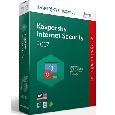 KASPERSKY Internet Security 2017 1 user  Default image