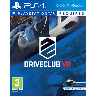 SONY ENTERTAINMENT Driveclub VR  Default image
