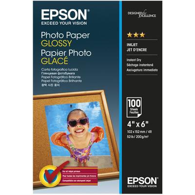 EPSON Photo Paper Glossy 10x15cm  Default image