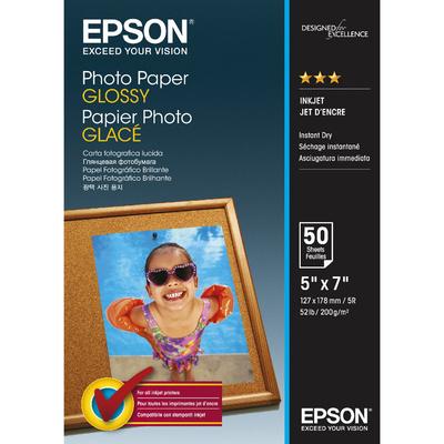 EPSON Photo Paper Glossy 13x18cm  Default image