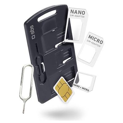 SBS ACCESSORI TELEFONICI Kit di adattatori per SIM  Default image