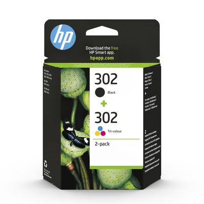 HP Confezione da 2 cartucce dinchiostro 302  Default image