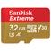 SANDISK Extreme microSDHC 32GB A1  Default thumbnail