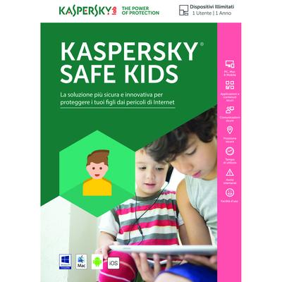 KASPERSKY Safe kids - 1 utente, 1 anno  Default image