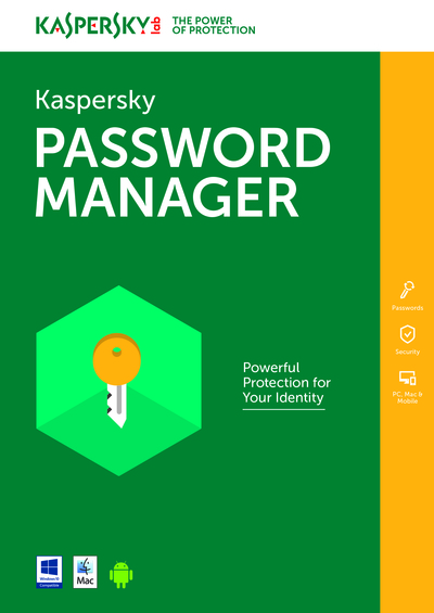 KASPERSKY PASSWORD MANAGER 1 UTENTE 1 ANNO  Default image