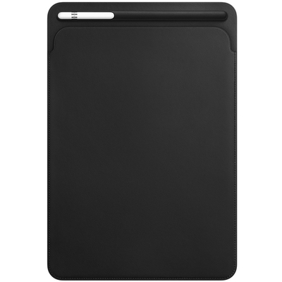 APPLE Leather Sleeve for 10.5-inch iPad Pro - Black  Default image