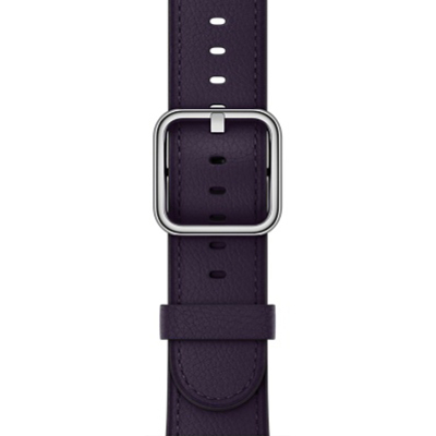 APPLE 38mm Dark Aubergine Classic Buckle  Default image