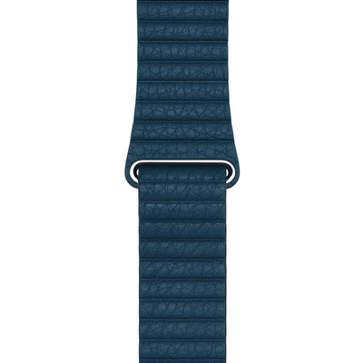 APPLE 42mm Cosmos Blue Leather Loop - Medium  Default image