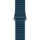 APPLE 42mm Cosmos Blue Leather Loop - Medium  Default thumbnail