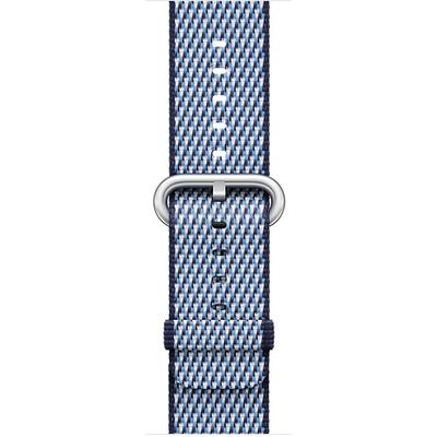 APPLE 38mm Midnight Blue Check Woven Nylon  Default image