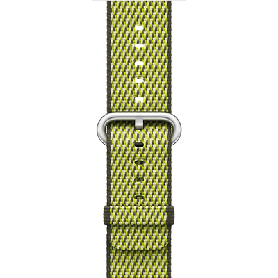 APPLE 38mm Dark Olive Check Woven Nylon  Default image