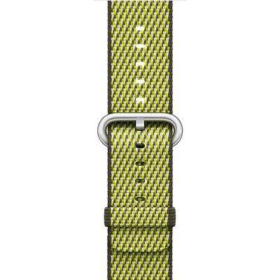 APPLE 42mm Dark Olive Check Woven Nylon  Default image