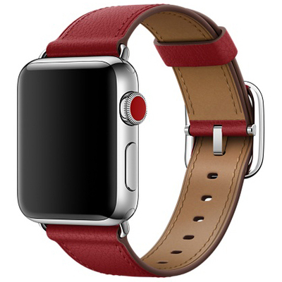 APPLE 38mm Ruby (PRODUCT)RED Classic Buckle  Default image
