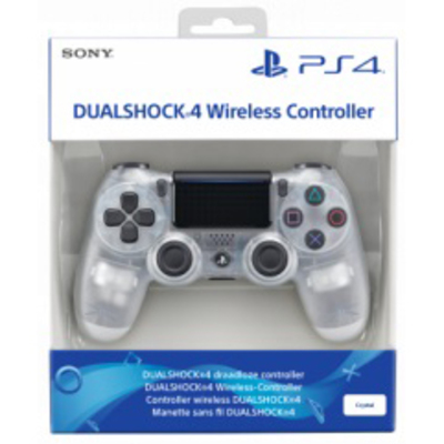 SONY ENTERTAINMENT Dualshock 4 Controlle Wireless Crystal V2  Default image
