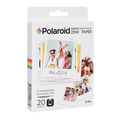 "POLAROID CARTA POP ZINK 3X4"" 20 FF  Default image"
