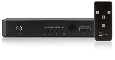 TELESYSTEM SWITCH HDMI 4K HDR  Default image