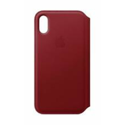APPLE iPhone X Leather Folio - (PRODUCT) RED  Default image