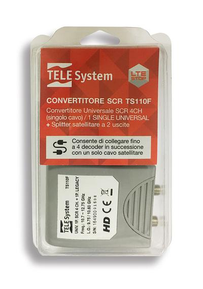 TELESYSTEM BLISTER LNB SCR TS110F  Default image