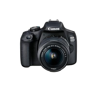 CANON EOS 2000D + EF-S 18-55 MM IS II VUK  Default image