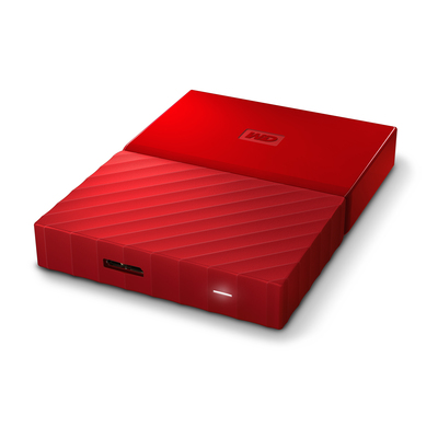 WD ( Western Digital ) WD MY PASSPORT 1TB HARD DISK PORTATILE - ROSSO  Default image