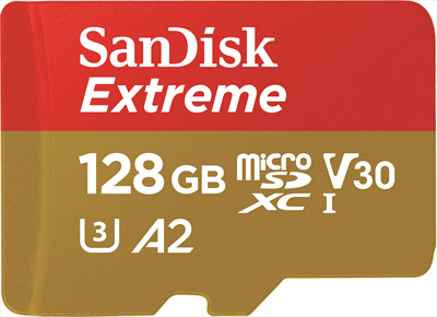 SANDISK SANDISK MICRO SD EXTREME A2 128GB+A  Default image