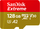 SANDISK SANDISK MICRO SD EXTREME A2 128GB+A  Default thumbnail