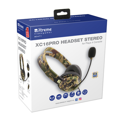 XTREME XC16-PRO HEADSET STEREO  Default image
