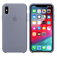 APPLE iPhone XS Max Silicone Case - Lavender Gray  Default thumbnail