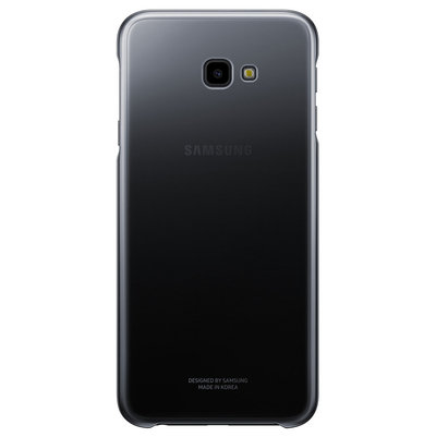 SAMSUNG Galaxy J4+ Gradation Cover Black  Default image