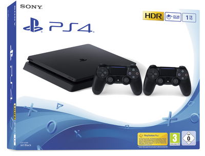 SONY ENTERTAINMENT PS4 1TB F + DS4  Default image