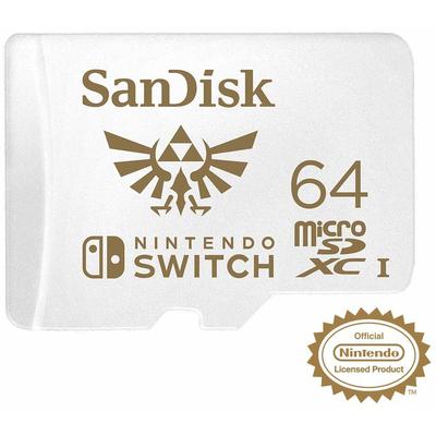 SANDISK SANDISK MICRO SD NINTENDO SWITCH 64  Default image