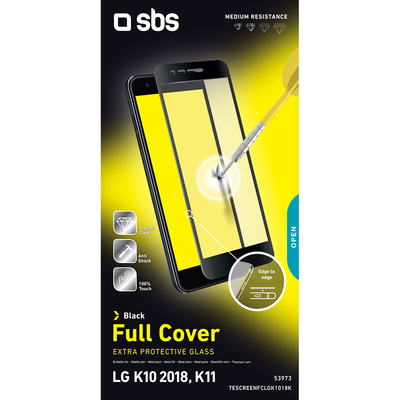 SBS ACCESSORI TELEFONICI TESCREENFCLGK1018K  Default image