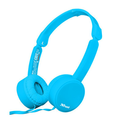 TRUST NANO HEADPHONES SUM BLUE  Default image