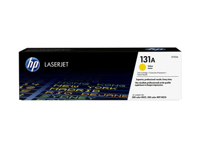 HP TONER GIALLO HP 131A  Default image