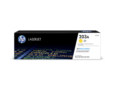 HP TONER HP 203A, GIALLO  Default image