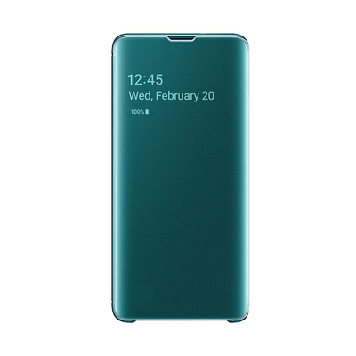 SAMSUNG CLEAR VIEW COVER GREEN GALAXY S10  Default image